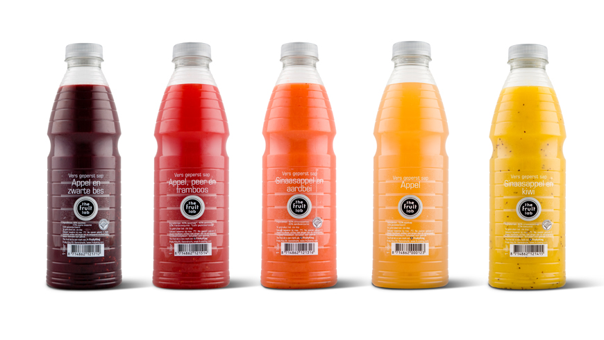 Collection of 1liter bottles for fresh juices photo 1