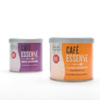 Packaging for cofee Essence with a bean textured lid thumbnail