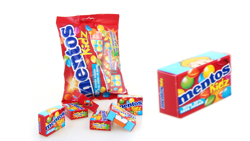 Packing for sweets with Mentos boxes photo 1