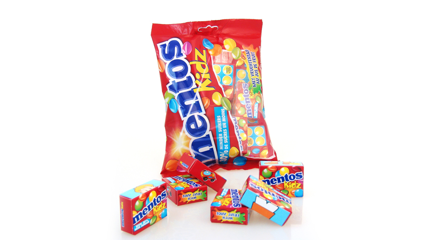 Packing for sweets with Mentos boxes photo 2