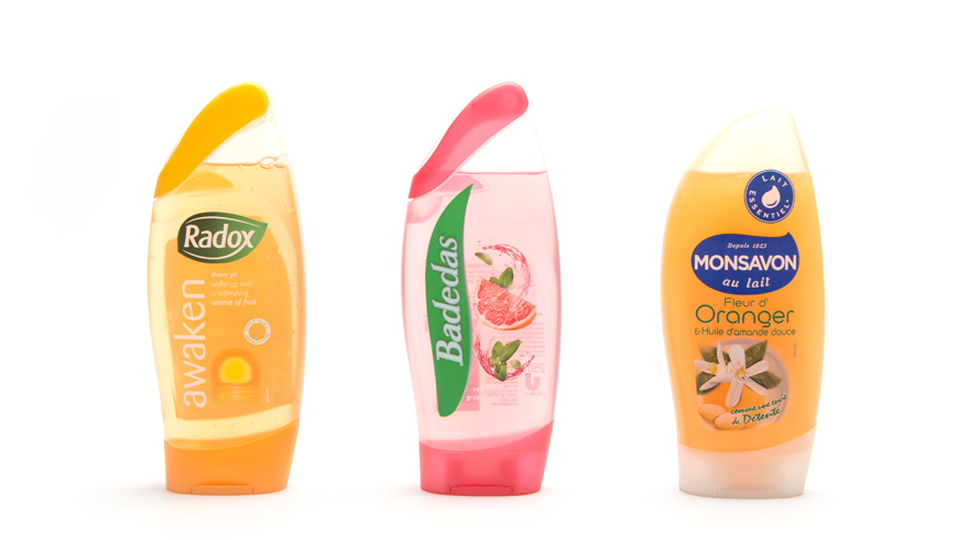 Series of packs for Duschdas, Badedas, Radox and Monsavon photo 3