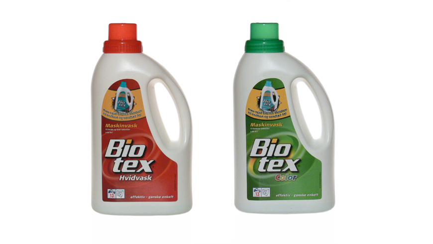 Packaging for Biotext liquid washing photo 1