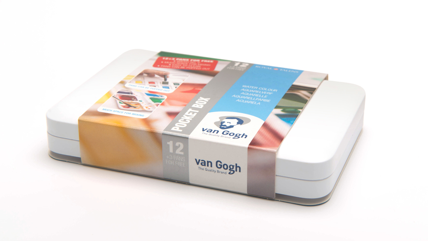 Van Gogh water colour pocket box photo 5